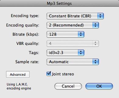 Amadeus Pro: The Mp3 file format