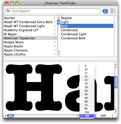 FontFinder